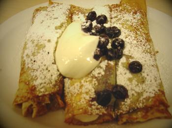 BlueberrySourCreamCrepes