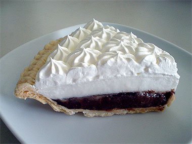 ... home a slice of Ted's famous chocolate haupia cream pie (US$1.95